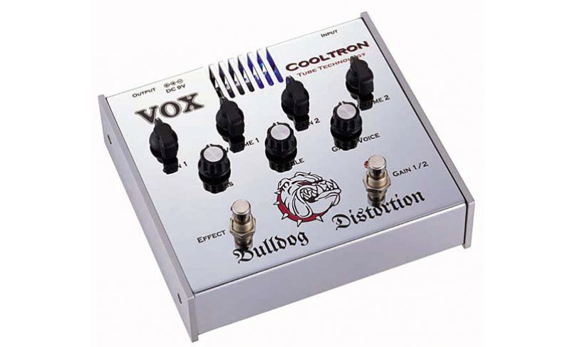 Педаль эффектов VOX COOLTRON BULLDOG DISTORTION