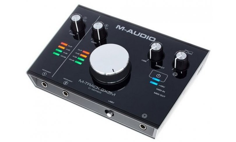 Аудио USB-интерфейс M-AUDIO M-TRACK 2X2 C-series