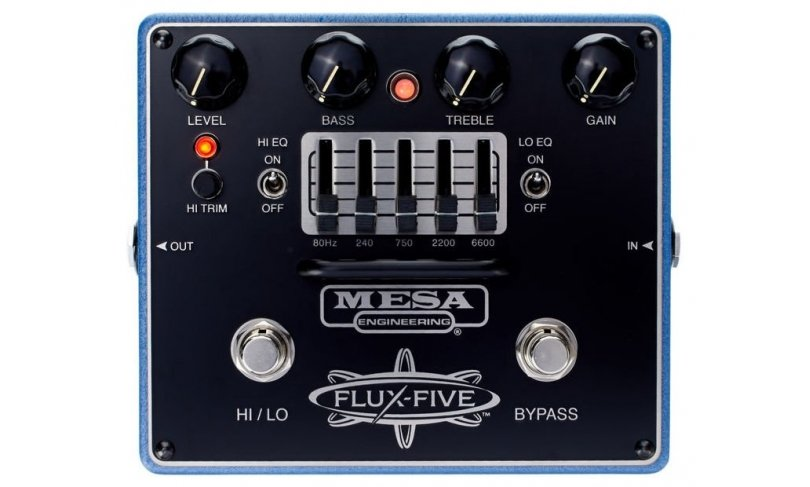 Педаль дисторшн MESA BOOGIE FLUX FIVE